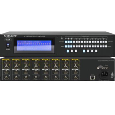 SB-5669K (4K) 16x16 HDMI Matrix Switcher
