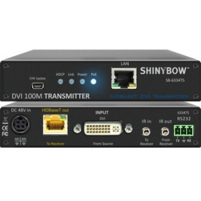 SB-6334T5 | SB-6334R5 DVI HDBaseT Extender (PoH)