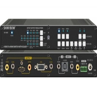 SB-3688 Video To HDMI Scaler Switcher