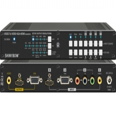 Digital Converter SB-3686A NTSC•PAL To NTSC•PAL•VGA•HDMI