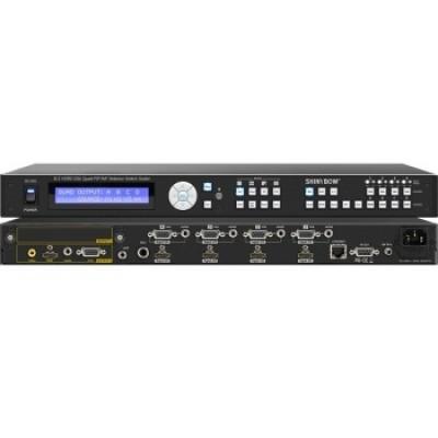 SB-3693 8:2 HDMI-VGA Quad-PiP-PoP Selector Switch Scaler