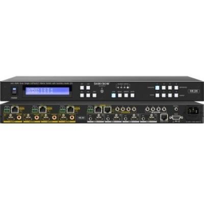 SB-5645CAK (4K) 4x4 HDMI HDBaseT Matrix Switch w   Auxiliary Audio