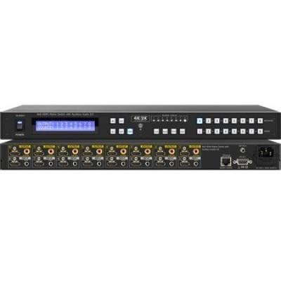 SB-5688AK (4K) 8x8 HDMI Matrix Switch with Auxiliary Audio