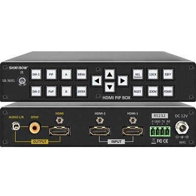 Switcher Shinybow SB-3691 2x1 HDMI PiP PoP Box