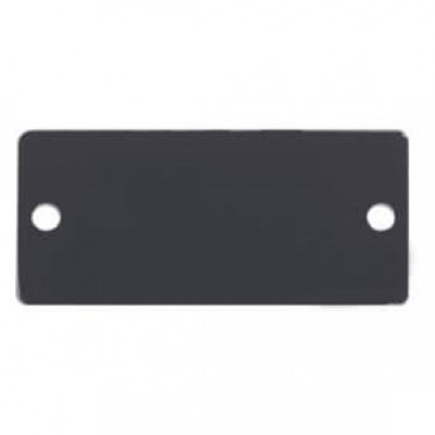 Wall Plate Insert - Blank Slot Cover Plate Kramer W-BLANK