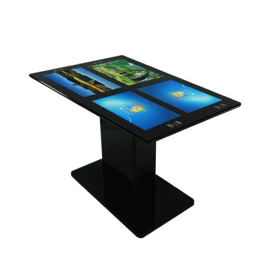 4x21.5 Inch Restaurant Touch Screen Table With NFC And Wireless Charging